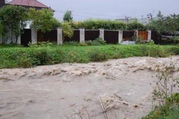 V regióne hrozia povodne.