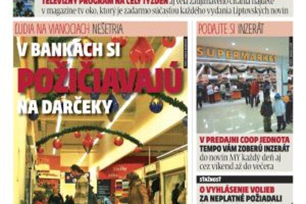 MY Liptovské noviny sú už v predaji. Nájdete v nich aj nový cestovný poriadok mestských a prímestských autobusových liniek v Liptovskom Mikuláši.