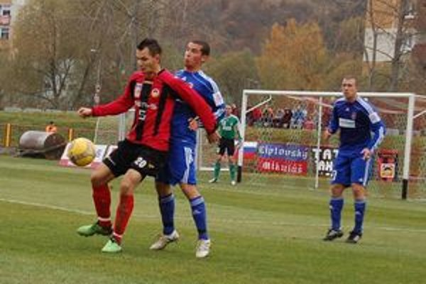 Futbalisti Tatrana Liptovský Mikuláš zimujú v prvej futbalovej lige na ôsmom mieste.