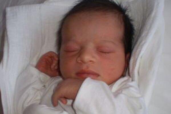 Prvé novoročné bábätko Lusiana Fliťárová z Liptovského Mikuláša.