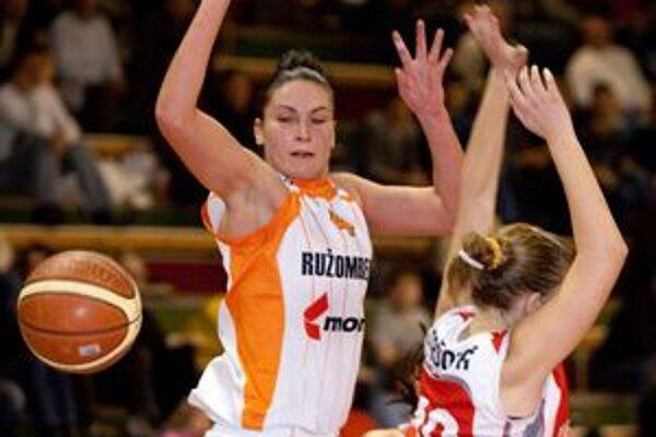 Ružomberské basketbalistky dnes čaká zápas proti Targovišťu.