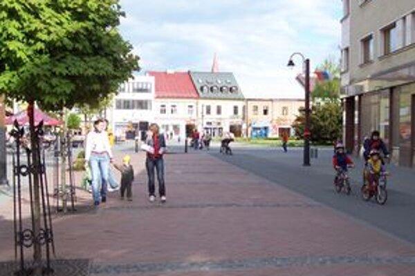 Prechádzka centrom Liptovského Mikuláša.