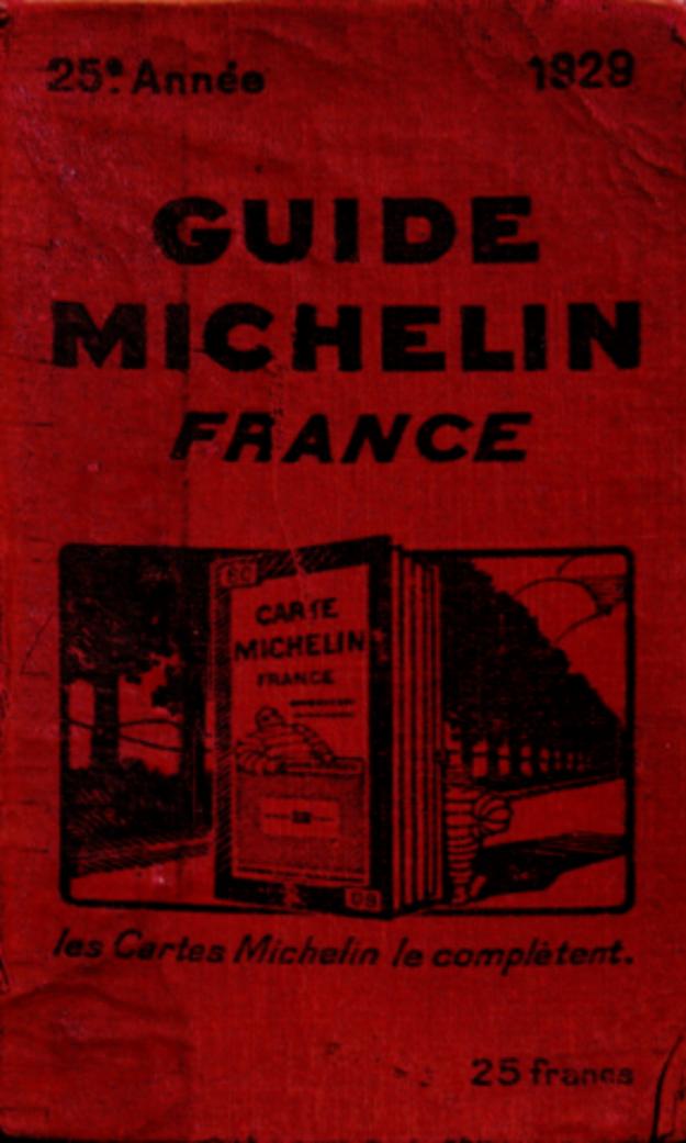 Michelinov sprievodca vychádza od roku 1900. Pre