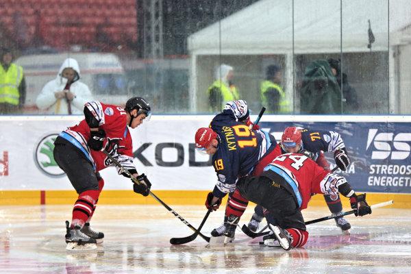 Buly počas upršanéo Winter Classic medzi Zvolenom a Banskou Bystricou.