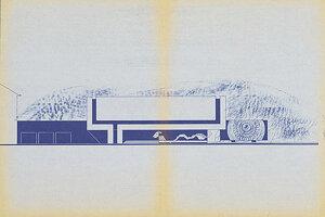 Plány na prístavbu Múzea Martina Benku z roku 1980.