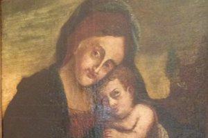 Obraz Madona s dieťaťom predatoval reštaurátor o 150 rokov dozadu.