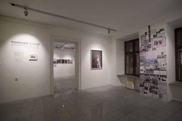 Výstava Ponorení v čase v Stredoeurópskom dome fotografie v Bratislave