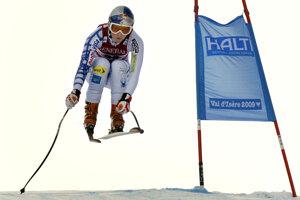 Rok 2009, preteky vo francúzskom meste Val d'Isere. Vo francúzskom stredisku predstihla o 19 stotín Nemku Viktoriu Rebensburgovú a Rakúšanku Elisabeth Görglovú.