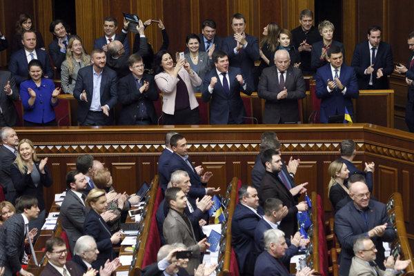 Ukrajinský parlament