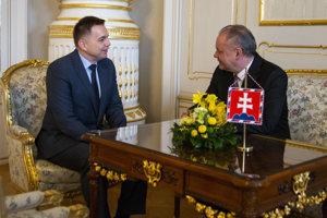 Kiska sa stretol s Kažimírom, ktorý by sa čoskoro mohol stať guvernérom Národnej banky.