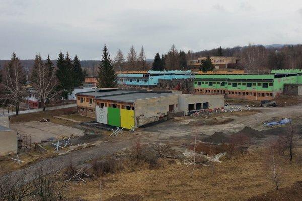 Výcvikové stredisko v Lešti.