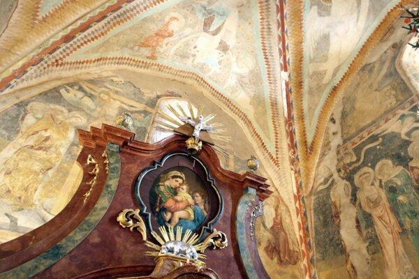 Vzácne fresky obnovia aj vďaka vašim hlasom.