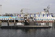Iránska ponorka.