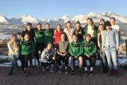 Wild Girls na ceste domov zúspešného zápasu vKošiciach.