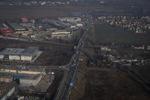 Dopravná situácia - cesta na Vajnory