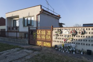 Dom Jána a Martiny, kde sa stala vražda, vo Veľkej Mači
