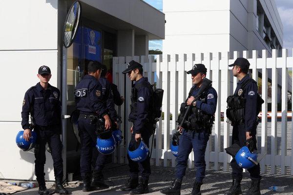 Turecká polícia