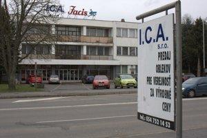 Spoločnosť I.C.A., s. r. o., plánuje prepustiť väčšinu zamestnancov.