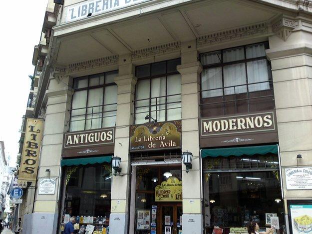 Librería De Avila v Buenos Aires.