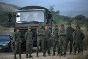 Venezuelskí vojaci.