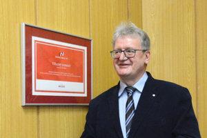 Bývalý sudca ÚStavného súdu Ladislav Orosz.
