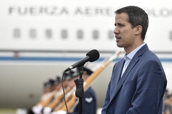 Líder venezuelskej opozície Juan Guaidó.