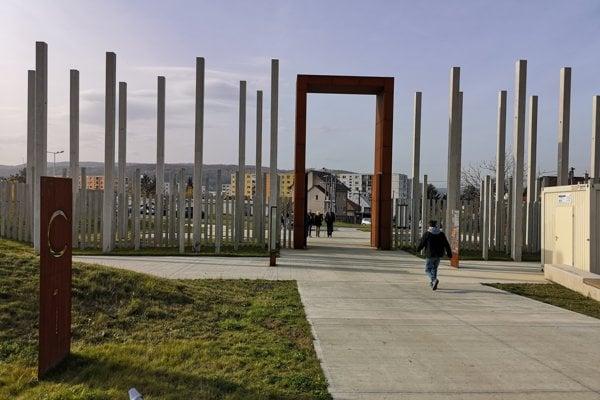 Pohľad na nový cintorín v Prešove.
