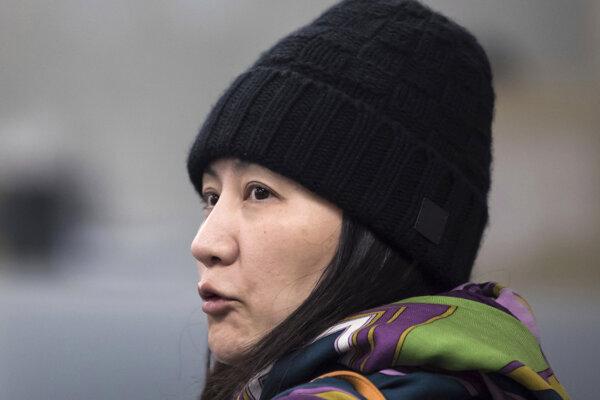 Finančná riaditeľka Huawei Meng Wan-čou.