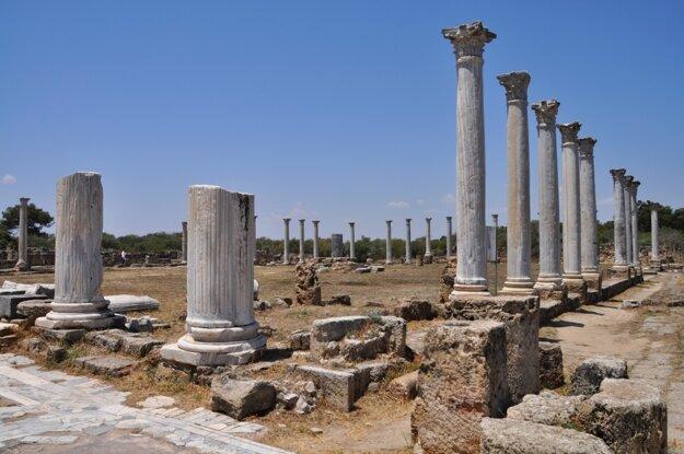 Salamina - pohľad na staroveké mesto