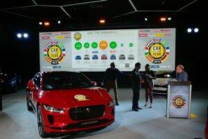 Jaguar I-Pace sa stal Autom roka 2019