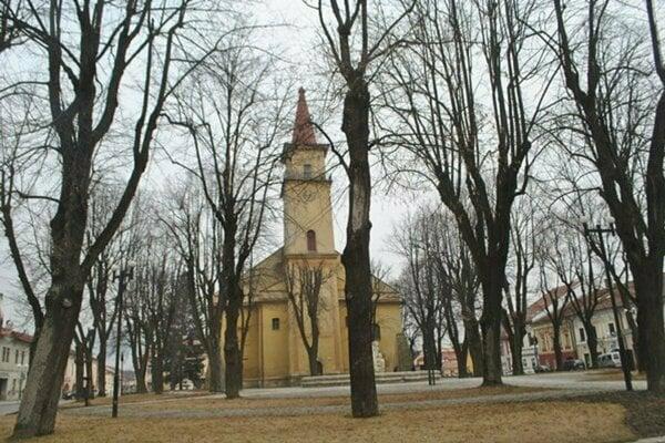 Námestei sv. Mikuláša v Starej Ľubovni.