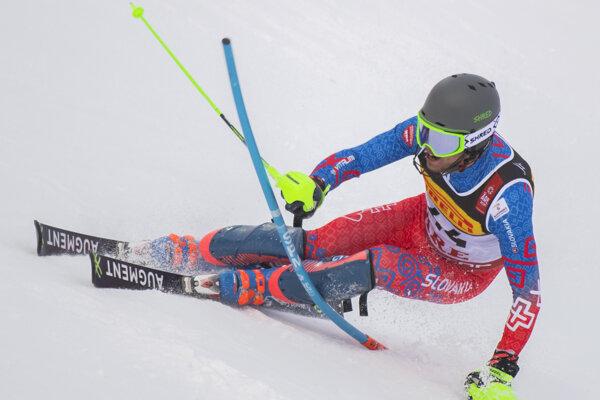 Na snímke slovenský slalomár Matej Falat - ilustračná fotografia.