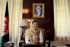 Rula Ghaní je manželkou afganského prezidenta aprvou dámou západného typu.