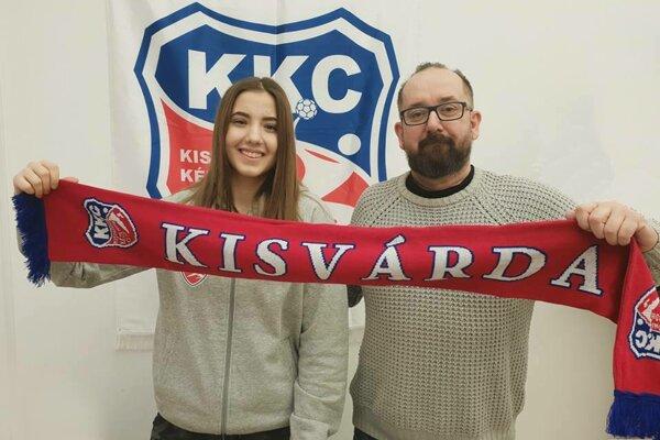Izabela Kondášová a Jaroslav Bovan.