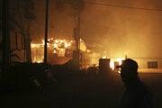 Lesné požiare za posledné desaťročia zdevastovali pobrežnú obec Mati.