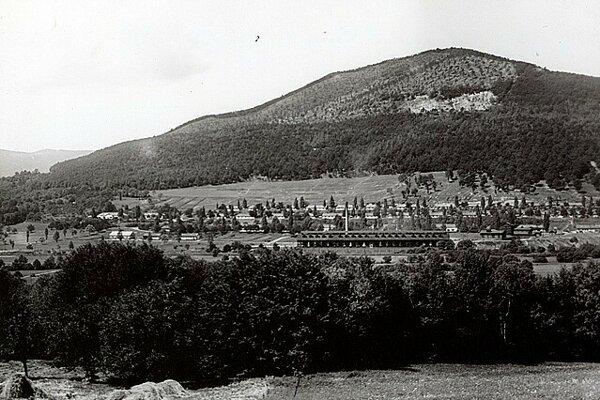 Rožňava Baňa v roku 1905.
