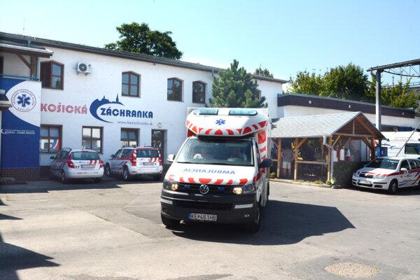 Záchranná služba Košice potvrdila, že ju pacienti občas využívajú, aj keď nie sú v urgentnom stave.