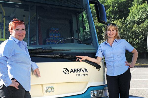 V Nitre je bežné vidieť ženu-šoférku autobusu.