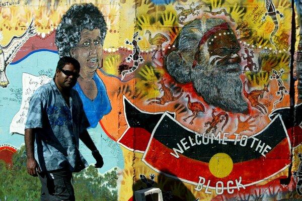 Aborigénovia patria k pôvodným obyvateľom Austrálie.