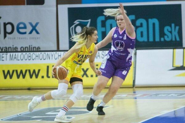 Košičanky doma v prvom štvrťfinále zdolali Poprad 68:47.
