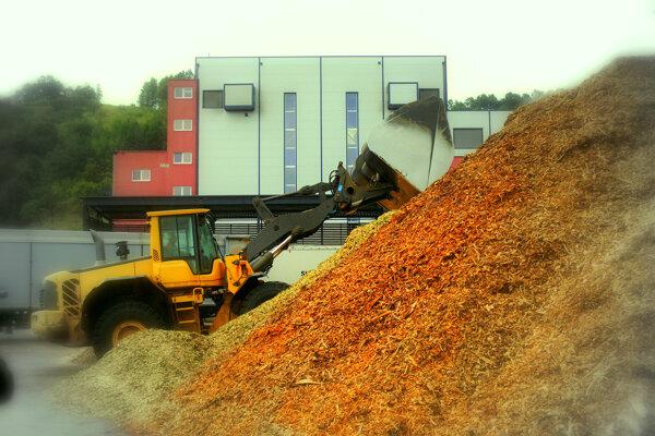 V útrobách bardejovskej spaľovne na biomasu zhoreli od roku 2010 milióny kubíkov aj zdravého akvalitného) dreva. (ZDROJ: MARIO HUDÁK)