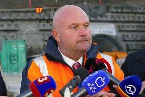 Na snímke generálny riaditeľ Národnej diaľničnej spoločnosti (NDS) Ján Ďurišin.