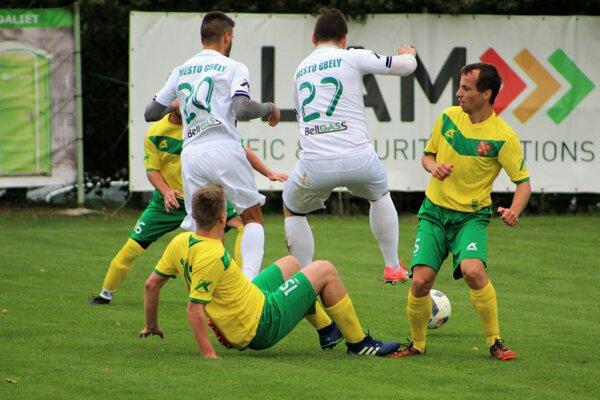 FK Bestrent Horná Krupá - TJ Nafta Gbely