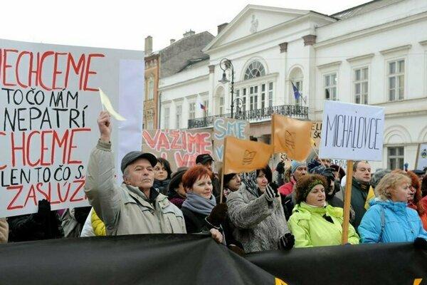 V Košiciach sa uskutoční ďalší protest.