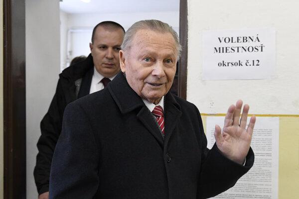 Rodák z Medzeva volil v Košiciach.