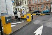 Parkomaty v meste sú mimo prevádzky.