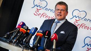 Prezidentské voľby 2019: Šefčovič sa v prípade zvolenia zriekne imunity