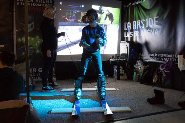 Návštevníci sa okrem iného dozvedia, ako funguje virtuálna realita.