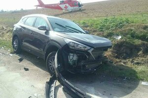 Vodič tohto auta dopadol najhoršie.
