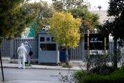 Vyšetrovanie incidentu pred ruskou ambasádou v Aténach.